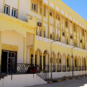 معا من اجل بناء وتطوير هذا الصرح الاكاديمي الذي هو ملك لجميع  الليبيين