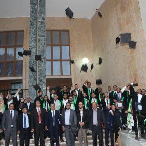 حفل خريجي كلية الاقتصاد الإسلامي والإدارة بجامعة السيد محمد بن علي السنوسي الإسلامية