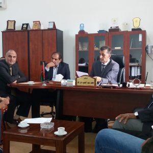 اجتماع مجلس الجامعة مع اللجنة المكلفة من وزارة التعليم بشأن القرار (606) الصادر عن رئاسة الوزراء