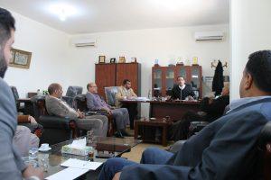 مجلس إدارة الجامعة يعقد اجتماعه العادي الثاني عشر