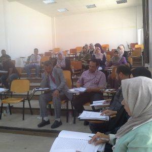 جلسات علمية بقسم المحاسبة بكلية الاقتصاد الإسلامي والإدارة.