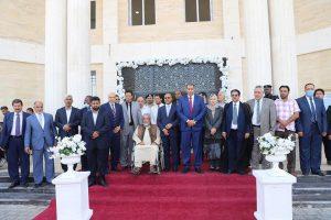 نائب رئيس مجلس الوزراء ووزير التعليم يفتتحان مقر الإدارة العامة لجامعة السيد محمد بن علي السنوسي الإسلامية بالبيضاء