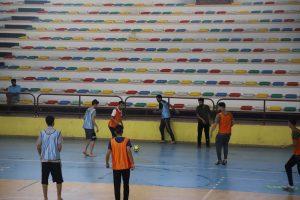 نتائج مبارايات اليوم الثالث من بطولة كرة القدم الخماسية لطلبة الجامعة